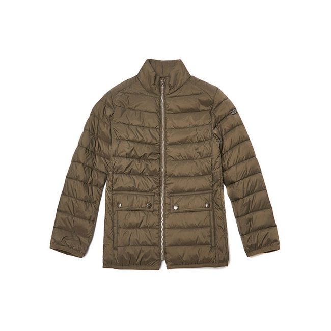 Barbour Boys B.INTL CROSSOVER QUILTED JACKET Olive On Sale
