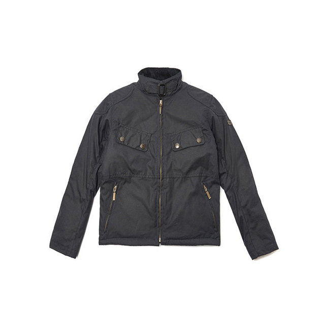 Barbour Boys B.INTL REBEL WAX JACKET Navy On Sale