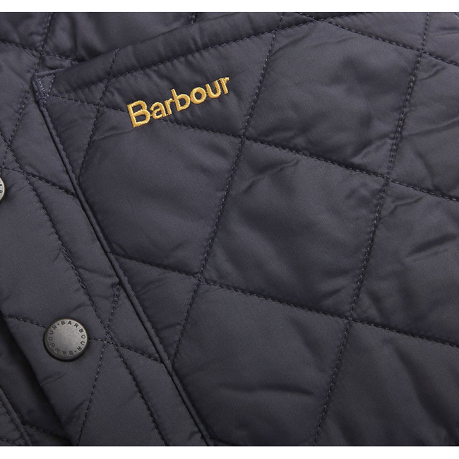 Barbour Boys LIDDESDALE QUILTED GILET Navy On Sale