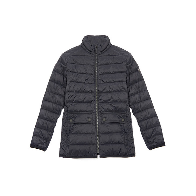 Barbour Boys B.INTL CROSSOVER QUILTED JACKET Black On Sale