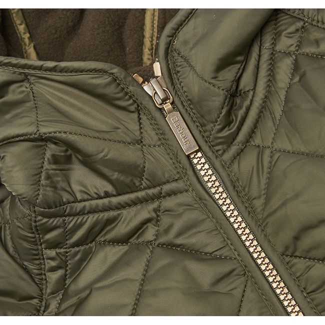 Barbour Boys BORDER LIDDESDALE QUILTED JACKET Sage On Sale