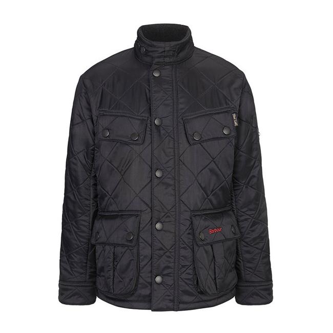 Barbour Boys Ariel Polarquilt Quilted Jacket Black On Sale