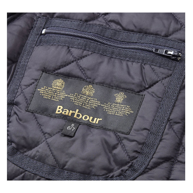 Barbour Boys LIDDESDALE QUILTED JACKET Navy On Sale