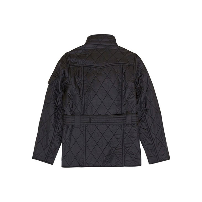 Barbour Girls B.INTL POLARQUILT QUILTED JACKET Black/Black On Sale