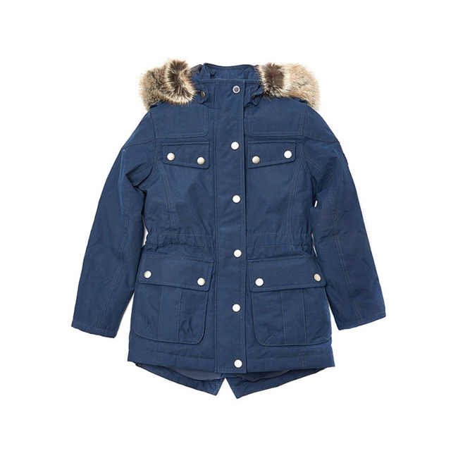 Barbour Girls B.INTL IMPELLER WATERPROOF BREATHABLE JACKET Navy On Sale