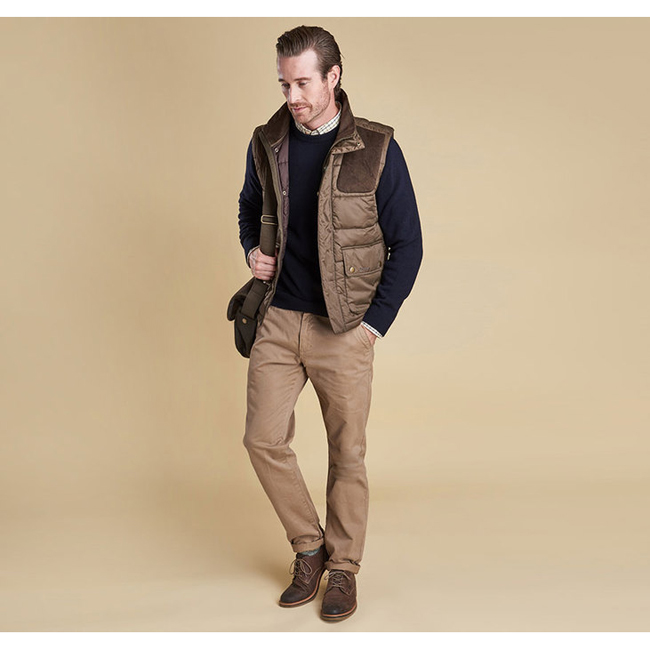Barbour Men COLWARMTH QUILTED GILET Olive On Sale