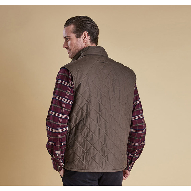 Barbour Men REDSHORE QUILTED GILET Olive On Sale
