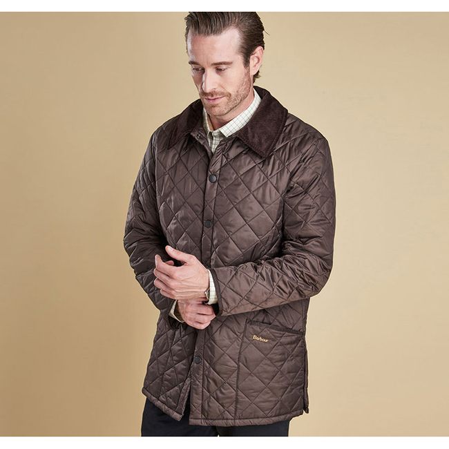Barbour Men LIDDESDALE QUILTED JACKET Rustic On Sale