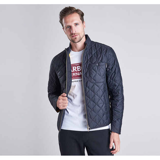 Barbour Men B.INTL AXLE QUILTED JACKET Black On Sale