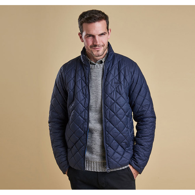 Barbour Men ROWLOCK QUILTED JACKET Navy On Sale
