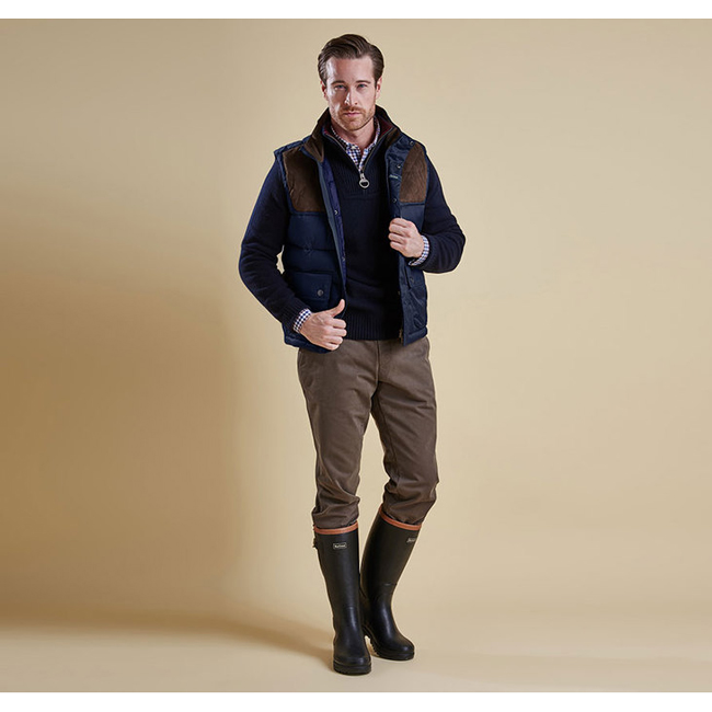 Barbour Men COLWARMTH QUILTED GILET Navy On Sale