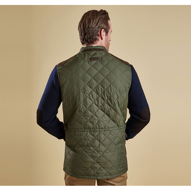 Barbour Men BREARTON GILET Olive On Sale