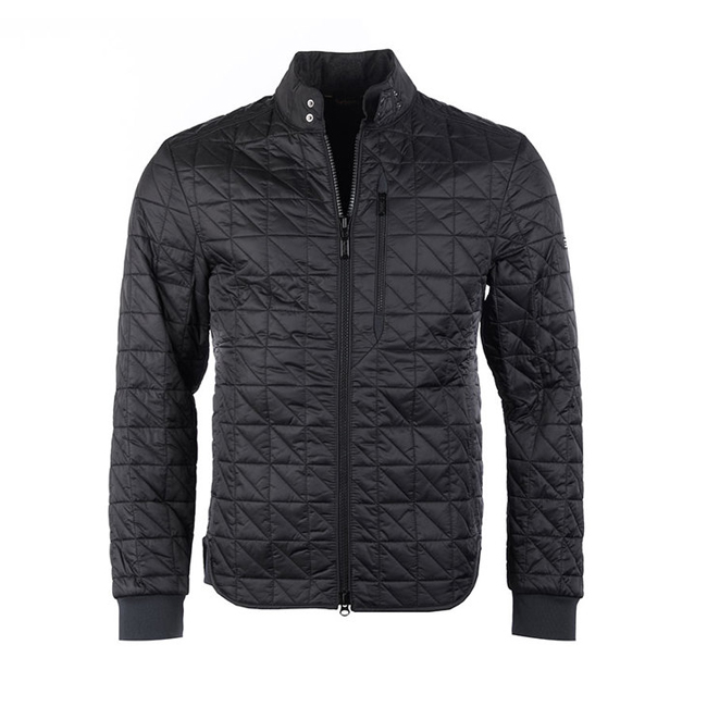 Barbour Men B.INTL CONDENSER QUILTED JACKET Black On Sale