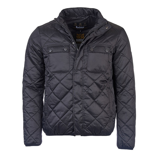 Barbour Men B.INTL FAIRING QUILTED JACKET Black On Sale