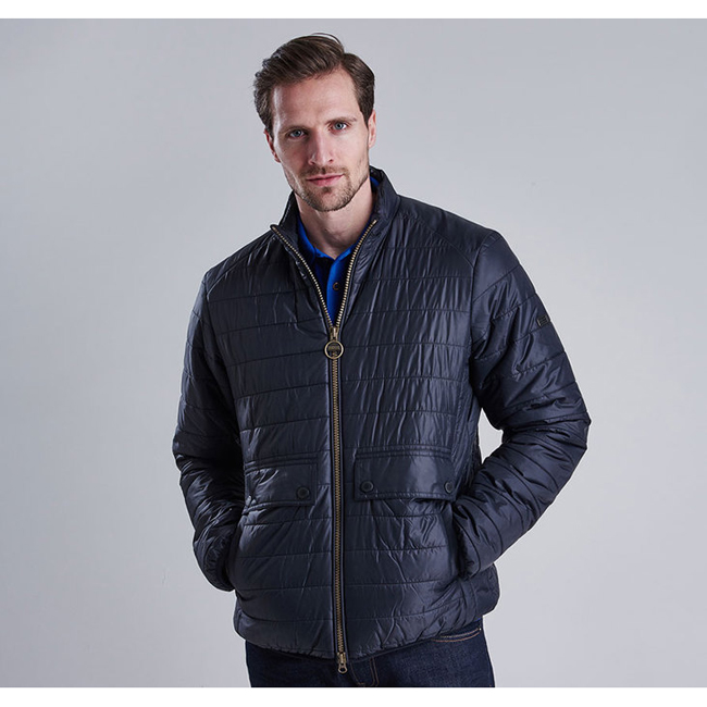 Barbour Men B.INTL CROSSOVER QUILTED JACKET Black On Sale