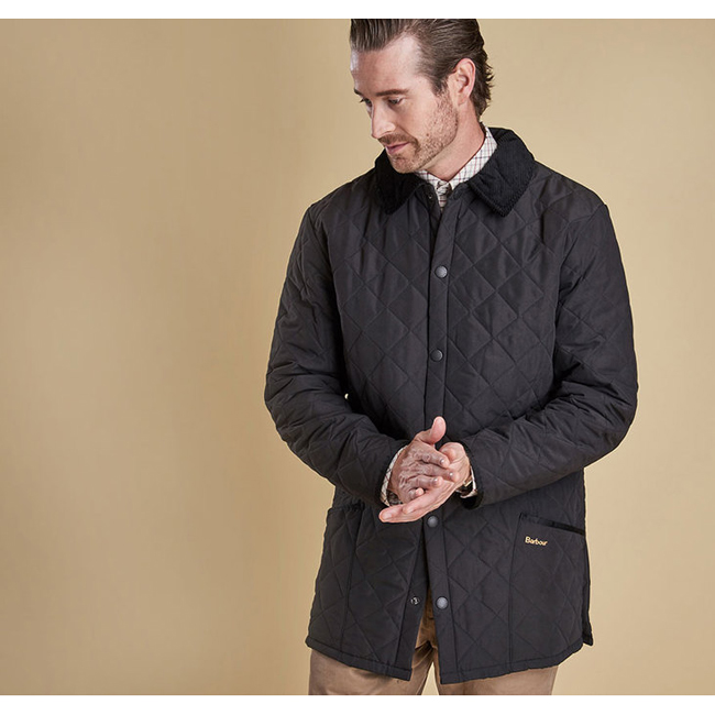Barbour Men ESKDALE QUILTED JACKET Black On Sale