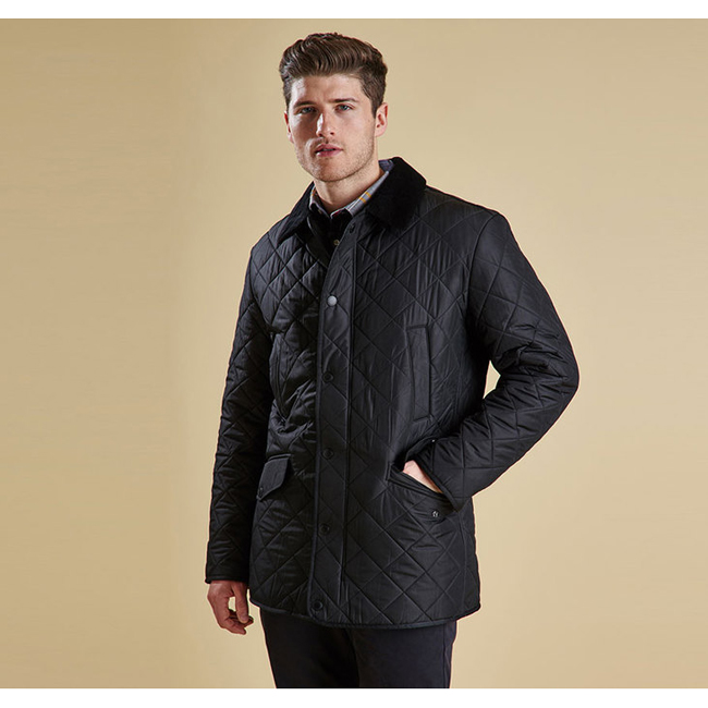 Barbour Men BARDON QUILTED JACKET Black On Sale