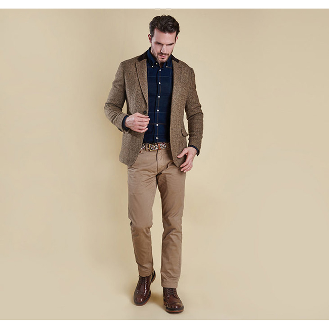 Barbour Men STANBURY TAILORED JACKET Sand On Sale