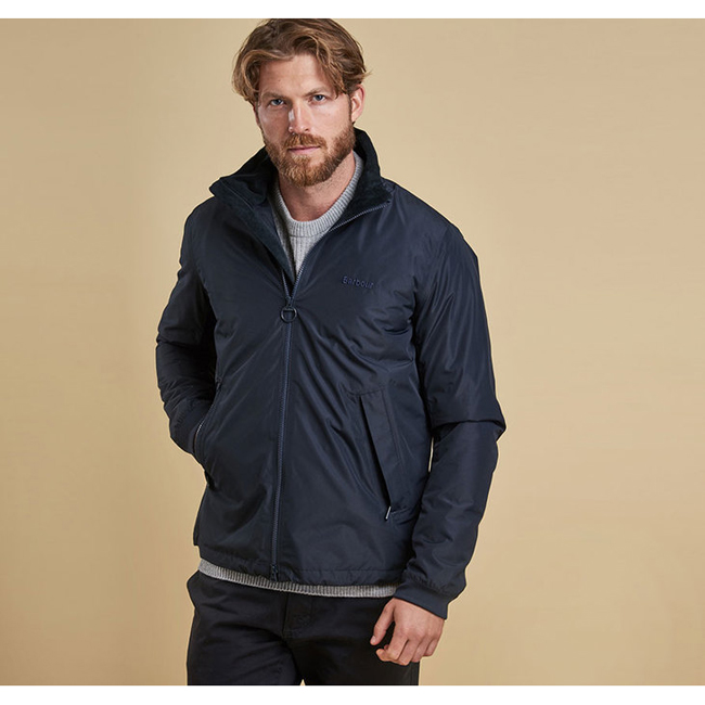 Barbour Men PEAK WATERPROOF BREATHABLE JACKET Navy On Sale