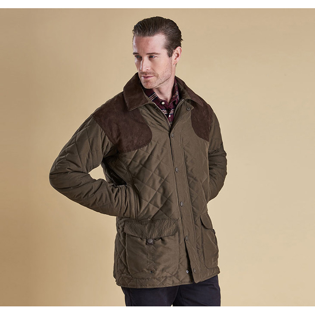 Barbour Men FULMAR WATERPROOF JACKET Dark Olive On Sale