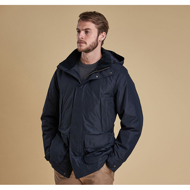 Barbour Men SCUPPER WATERPROOF BREATHABLE JACKET Navy On Sale