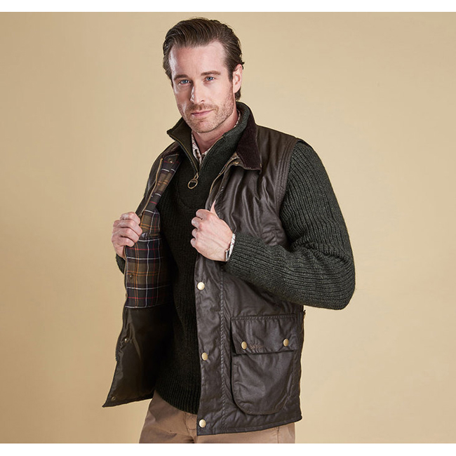 Barbour Men NEW WESTMORLAND BODY WARMER Olive On Sale