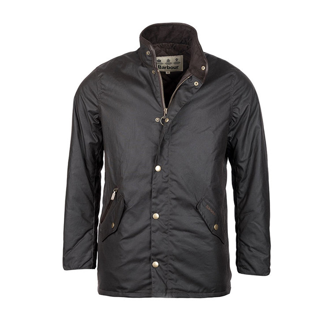 Barbour Men PRESTBURY WAX JACKET Rustic On Sale