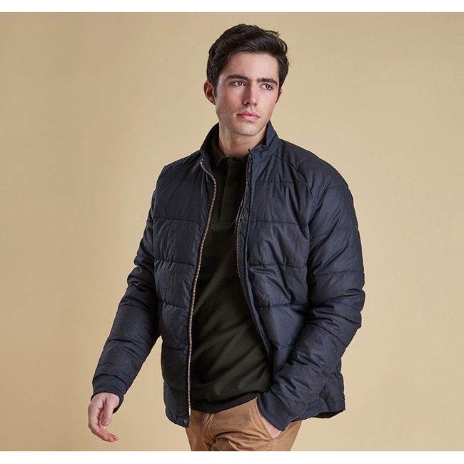 Barbour Men ARDWELL WAX JACKET Navy On Sale