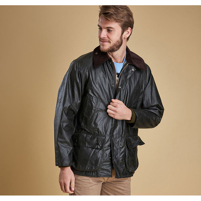 Barbour Men BEDALE WAX JACKET Sage On Sale