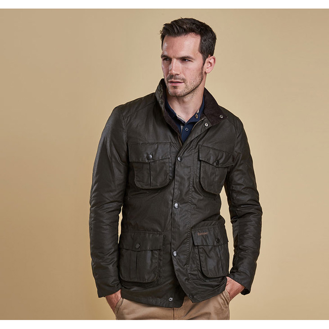 Barbour Men CORBRIDGE WAX JACKET Olive On Sale