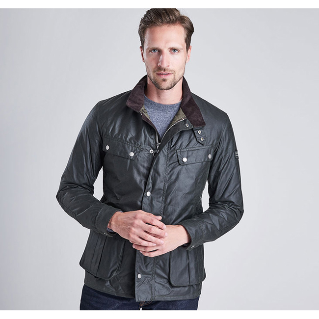Barbour Men B.INTL DUKE WAX JACKET Sage On Sale