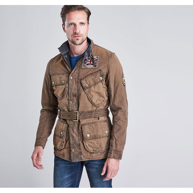 Barbour Men B.INTL LEGEND WAX JACKET Hickory On Sale