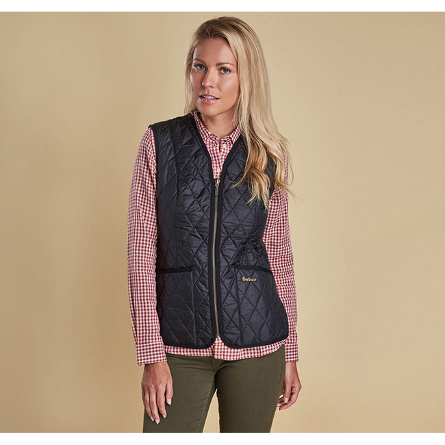 Barbour Women BETTY INTERACTIVE LINER Black On Sale